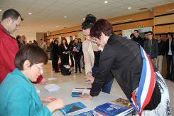 Une cérémonie de citoyenneté pour les jeunes électeurs