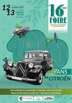 16e Foire commerciale, autour des 100 ans de Citroën