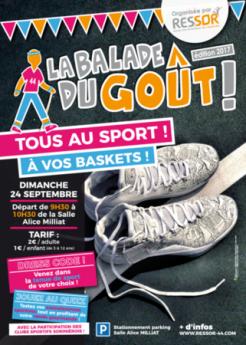 Balade du goût : tous au sport, à vos baskets !