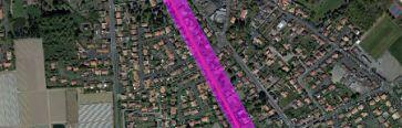 Travaux d'assainissement rue des Lauriers : pr�sentation du futur chantier