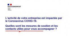 Coronavirus : aides aux entreprises