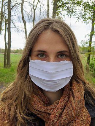 Masque réutilisable - source Pixabay @Henrik Bortels