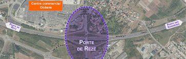 Futur am�nagement de la Porte de Rez�