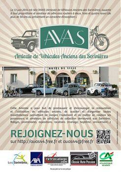 Amicale de Véhicules Anciens des Sorinières (AVAS)
