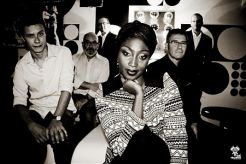 Concert de N'Deye and the three generations blues band