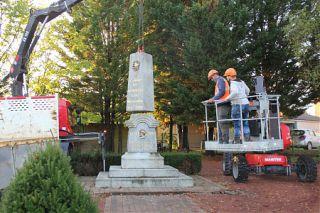 Un nouvel emplacement pour le Monument aux morts