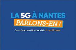 La Ville des Sorinières s'engage  dans le débat public sur la 5G