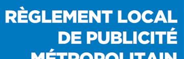 Consultation pour le Règlement Local de Publicité métropolitain