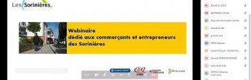 Covid-19 : un échange sur les aides aux commerces et entreprises des Sorinières