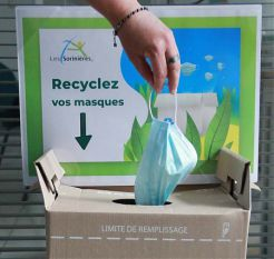 Recycler ses masques