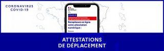 Déplacements : 3 nouvelles attestations pendant le couvre feu