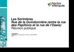 Rue de la Guindonnière : sécuriser les déplacements doux