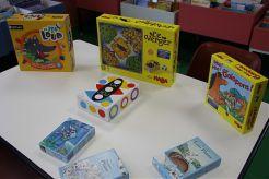 Des jeux à la bibliothèque