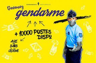 La Gendarmerie Nationale recrute