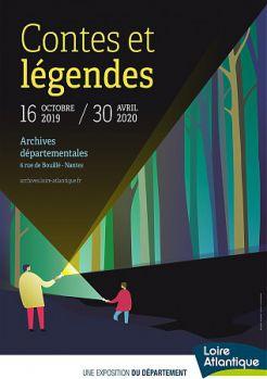 """Sortir ensemble en ville : visite de l'exposition """"Contes et légendes"""""""