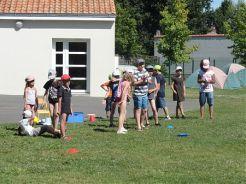 Programme de l'été au Centre de loisirs.